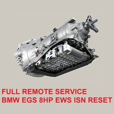 BMW EGS 8HP Transmission EWS ISN reset