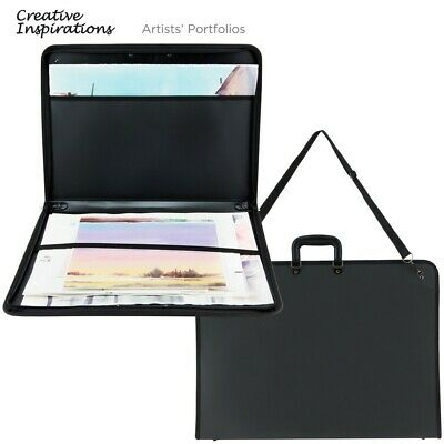 Creative Inspirations Durable Nylon Artist Portfolio Tote Sketch Pad Book Canvas