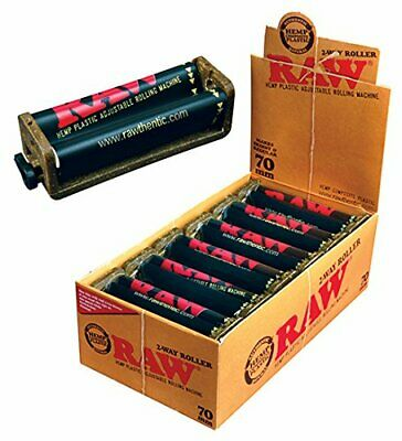 12 Pack RAW Roller Bundle Rolling Machine 70mm King Size Rolling Papers Classic