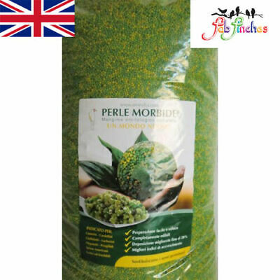 Perle Morbide Birds Cage Aviary Alternative to Germinated or Soak Seed Egg Food