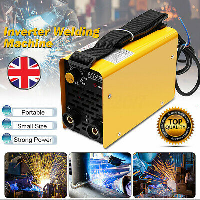 DC 220V Portable Mini MMA ARC Welding Machine IGBT Inverter Welder 200A ZX7-200
