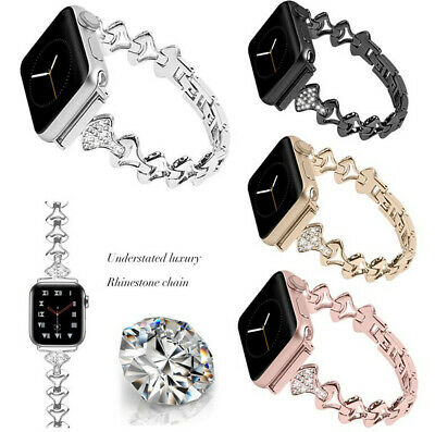 Bling Bracelet iWatch Band Strap For Apple Watch Series 5 4 3 2 1 38/40 42/44mm