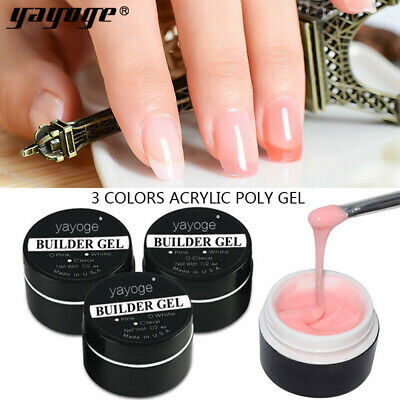 14g Building UV LED Gel Hard Jelly Gel for Nail Extension Gel 4 Colors