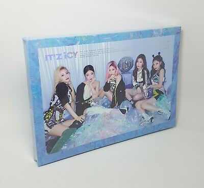 K-POP ITZY Album - [IT'z ICY] ICY Ver. CD+Photobook+2p Photocard+1st Page Sealed
