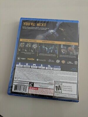 BRAND NEW & SEALED Mortal Kombat 11 PS4 Sony Playstation 4 with Bonus Content