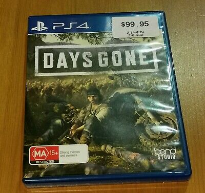 Used Days Gone PS4 Game Like New. Condition is Like new. Sent with Australia