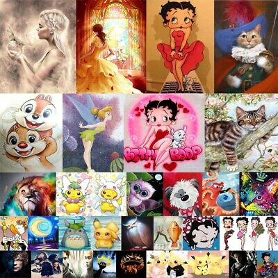 Cartoon Characters Full 5D Diamond Painting Embroidery Cross Craft Arts Mural