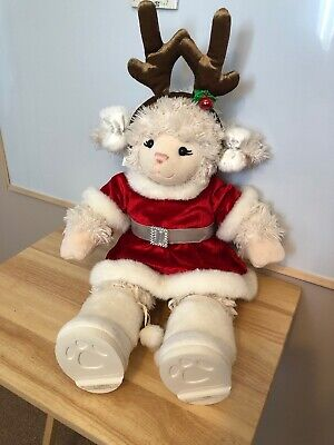 Christmas Lamb Soft Toy Build A Bear