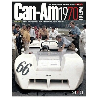 Sportscar Spectacles By Hiro No.10 : Can-Am 1970 Part-01 - Livre Neuf