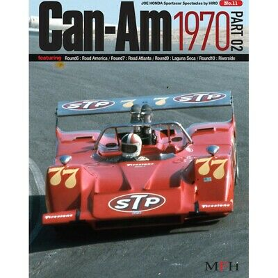Sportscar Spectacles By Hiro No.11 : Can-Am 1970 Part-02 - Livre Neuf