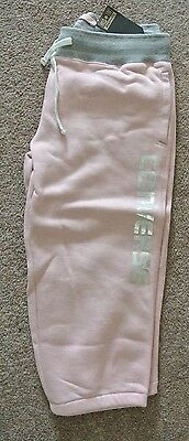 New Converse all star girls crop Joggers pink age 13-15 years