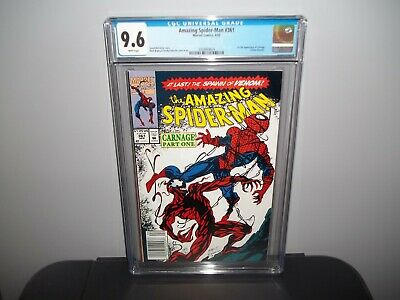 AMAZING SPIDER-MAN #361  CGC 9.6 NM First 1st CARNAGE 1992!!! VENOM NEWSSTAND!