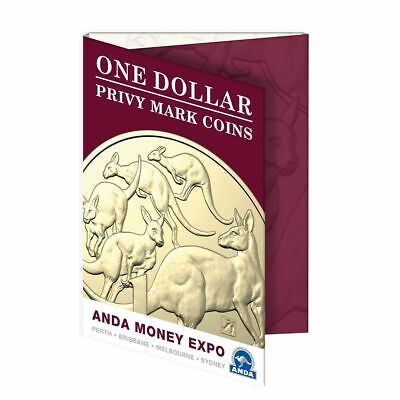 2019 $1 ANDA Money Expo Privymark Collection Folder , Great Investment