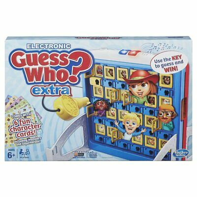 Electronic Guess Who?: Extra, Game Hasbro Family Fun Game