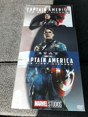 Captain America First Avenger DVD SEALED WITH LIMITED EDITION O RING SLEEVE