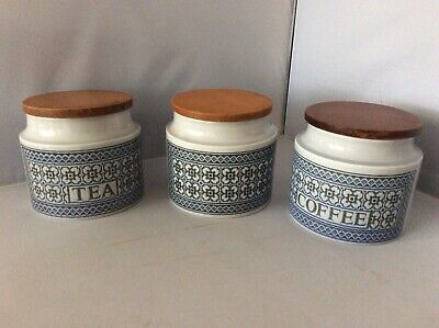 Hornsea Pottery Tapestry Pattern Storage Jars, Available Singly, John Clappison
