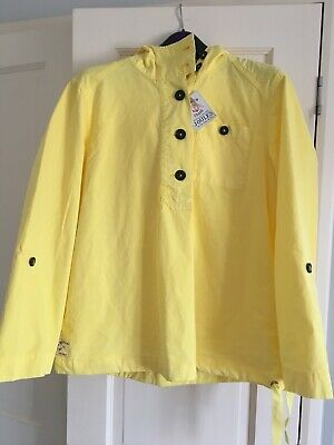 Joules Womens Embleton Casual Pop Over Jacket in SUMMER BAY