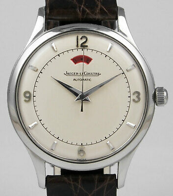 Jaeger LeCoultre Powermatic - Stainless Steel With White Dial (1952)