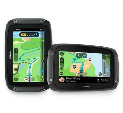 Tom Tom Rider 550 Navigatore Gps Moto H2O Mappe Mondo Touch Screen Bluetooth 3D