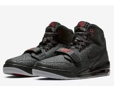 a5f0e2096c07a NEW NIKE AIR JORDAN LEGACY 312 ELEPHANT PRINT BLACK RED Size 10.5 ...