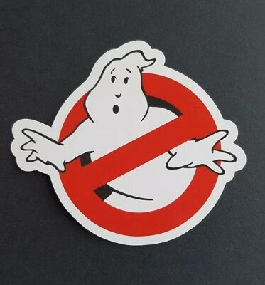 S677 Ghostbusters logo movie film Sticker, laptop,wall,book,phone,tablet