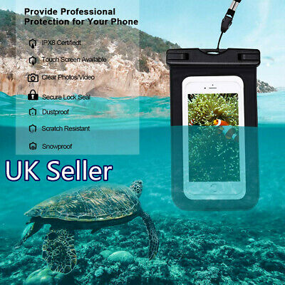 Waterproof Phone Case Universal Dry Cellphone Pouch Sealed for iPhone Samsung
