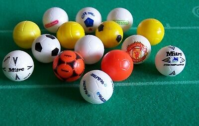 Subbuteo 22mm Balls Collection - Excellent Condition