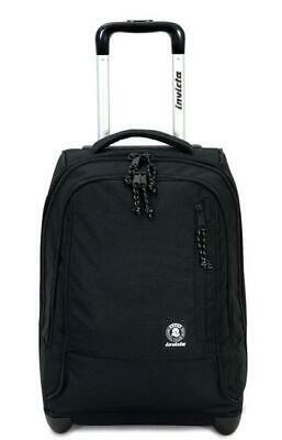 ZAINO TROLLEY Invicta tindy plain JETBLACK 206001923.899