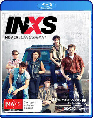 INXS: Never Tear Us Apart NEW Series Blu-Ray 2-Disc Set Daina Reid Australia