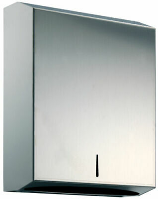 New Polished Stainless Steel Hand Towel Paper Dispenser