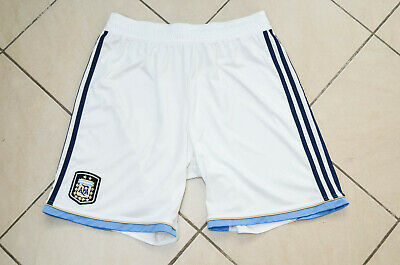Argentina National Team 2012/2013 Home Football Shorts Adidas Size L Adult