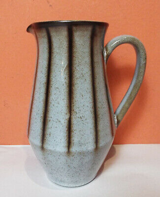 Denby Langley STUDIO Creamer Pitcher PERFECT Stone Gray Brown Syrup