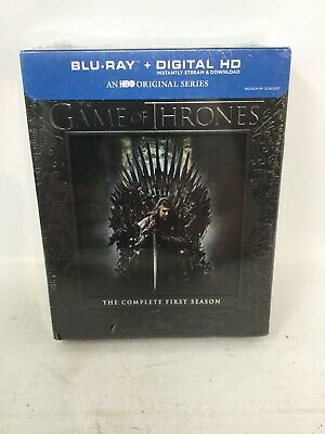 Game of Thrones Complete First Season (Blu-ray + Digital HD) New Sealed