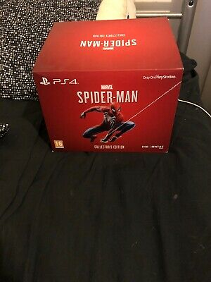 Marvel's Spider-man Collectors Edition (PS4) Sealed - Fully complete - game incl