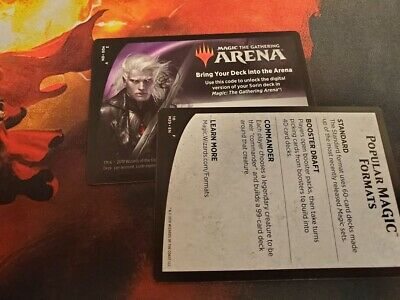 MAGIC THE GATHERING Arena 6 Free Booster Packs Core Set 2020 M20