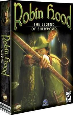 Strategy First Computer Wargame Robin Hood - The Legend of Sherwood No Box NM