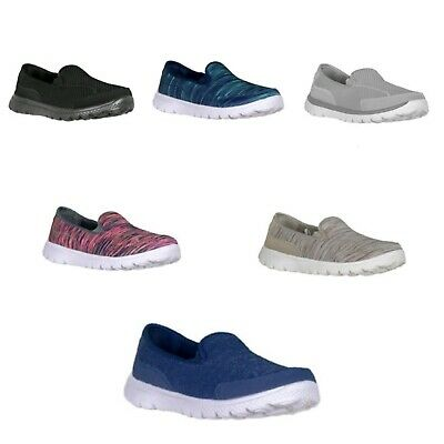 Athletic Works Women's Memory Foam Pick Color Slip-on Sneakers/Shoes: 6-11