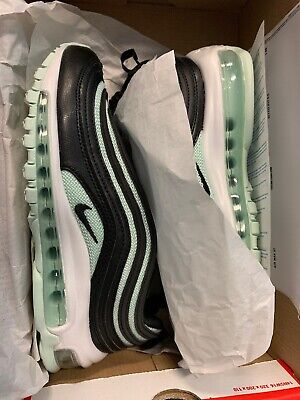 3df679855 Nike Women's Air Max 97 Igloo Black Mint White Running Shoes 921733 012  Size 6.5
