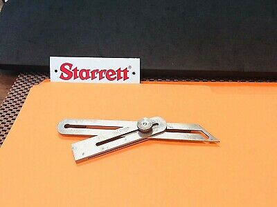 "The L.s. Starrett No. 47 Improved Universal Bevel. ""Made In The Usa"""