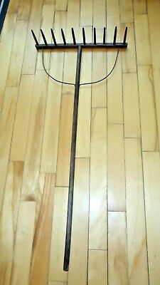 Antique Primitive Wooden Hay Rake