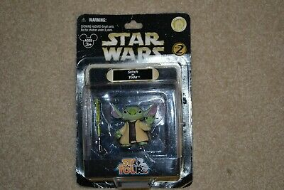 Disney Parks Star Wars Tours Series 6 Stitch as Yoda Figure NEW