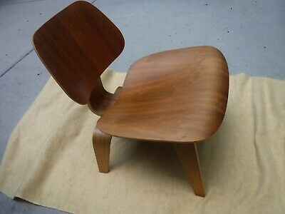 Outstanding Herman Miller Charles Eames Lcw Wood Lounge Chair Walnut Uwap Interior Chair Design Uwaporg