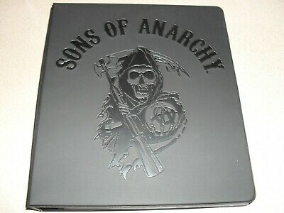 Sons of anarchy season 1-3 OFFICIAL TRADING CARD BINDER