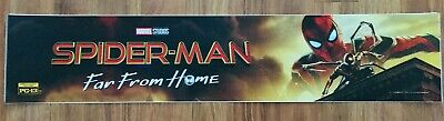 MCU SPIDER-MAN: FAR FROM HOME - Marvel - Movie Theater Poster / Mylar LARGE 5x25