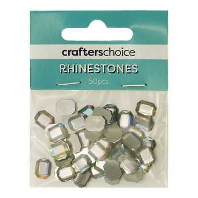 NEW Crafters Choice Faceted Octagonal Gems Pack By Spotlight