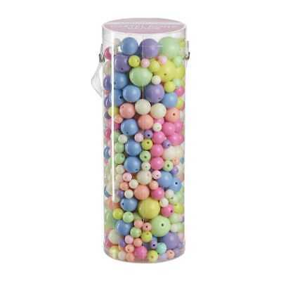 NEW Crafter's Choice Pastel Beads in Tube By Spotlight