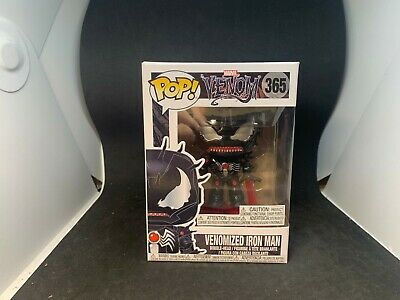 FUNKO POP Marvel Venom Venomized Iron Man #365 Vinyl Figure