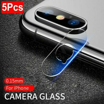 For iPhone XS Max XR 8 7+ Back Camera Lens Screen Tempered Glass Protector 2/5X