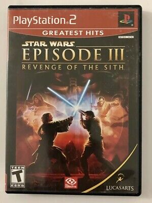 Star Wars: Episode III: Revenge of the Sith (Sony PlayStation 2, 2005) PS2 Game