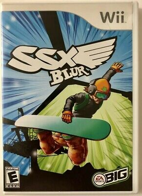 SSX Blur (Nintendo Wii, 2007) EA Sports Game & Manual FREE SHIPPING!